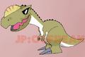 Monolophosaurus chibi v.2 colored