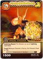Triceratops - Chomp Battle Mode TCG Card 2-DKAA-Gold