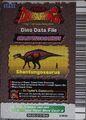 Shantungosaurus Card Eng S1 5th back