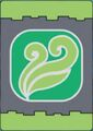 Grass Dinosaur Card back