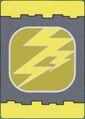Lightning Dinosaur Card back