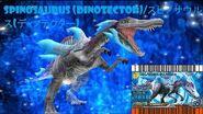 Dinosaur King 古代王者恐竜キング- Wake up! New Power!!- Spinosaurus (DinoTector) - Space Pirates Stage 3