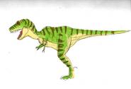Dp t rex boss colorized by shockculture decruah