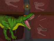 Dinosaur planet t rex entrance by shockculture decrx5p