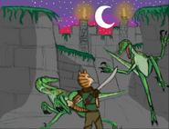 Dinosaur planet walled city by shockculture decrwpw