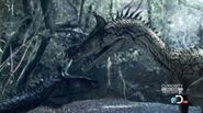 Dinosaur Revolution Cryolophosaurus