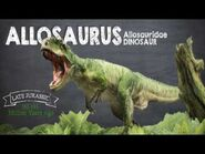 Allosaurus Facts! A Dinosaur Facts video about Allosaurus, the king of the Jurassic period.