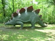 Stegosauro Parco Della Preistoria 2007