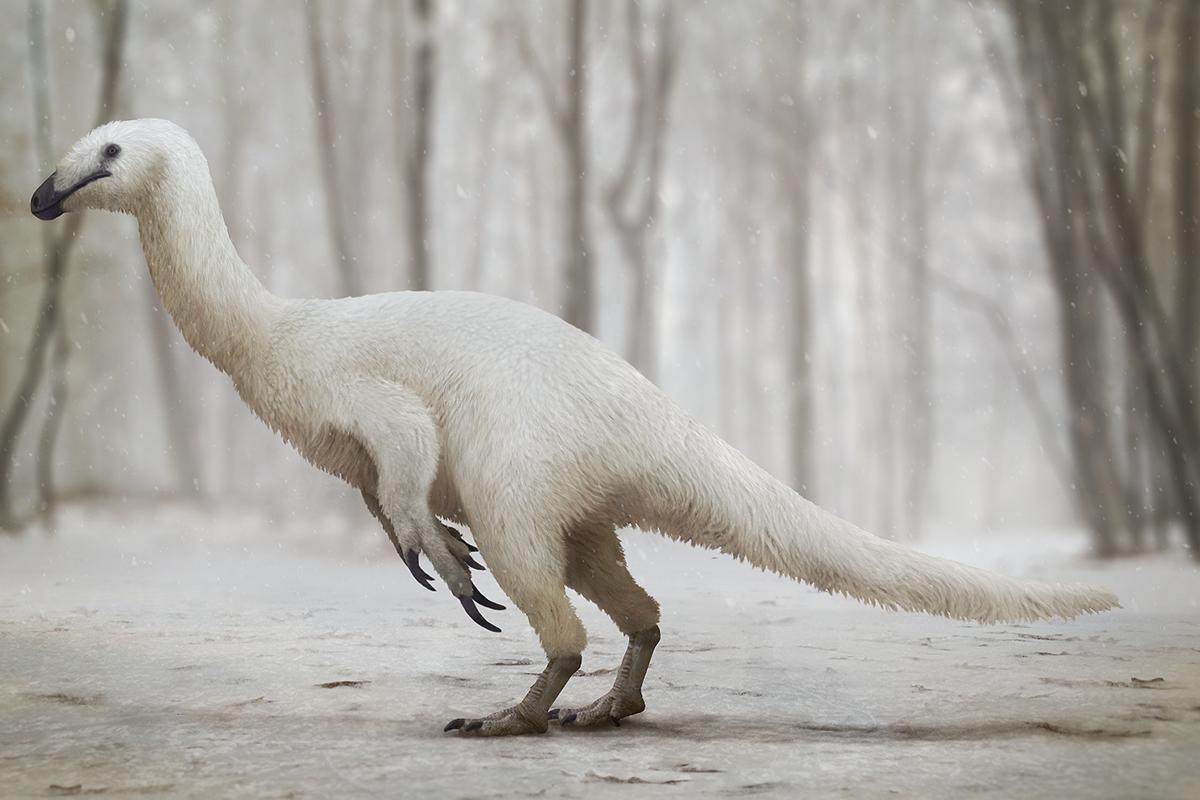 Alaskan Therizinosaur