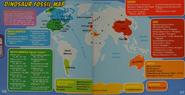 Angry Birds Dinosaur Fossil Map