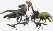 Cretaceous fauna of Montana