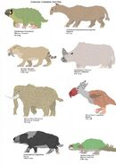 Cenozoic creatures wave one part one by dinosaurlover83 db7cd01-fullview