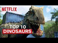 Top 10 Scariest Dinosaurs in Jurassic World Camp Cretaceous 😱 Netflix Futures