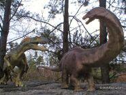 Allosaurus vs apatosaurus 2 by carnosaur-d8mkckq