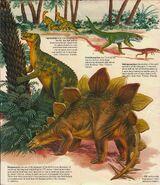 Stego Dinosaurs Domino