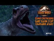 Ceratosaurus Attacks The Group! - Early Season 2 Clip - Jurassic World Camp Cretaceous