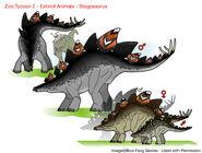 ZT2 EA - Stegosaurus