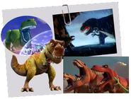 Disney T-Rexes in movies