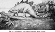 Animals of the past, an account of some of the creatures of the ancient world (1913) (14764120714)