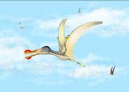 Anhanguera Coloborhynchus Ornithocheirus flying