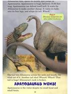 Apatosaurus wins