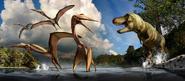 Cretaceous Big Bend mural