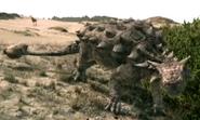 Tarchia in Dinosaurs Alive