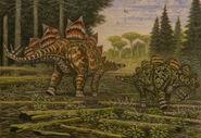 Stegosaurus stenops hesperosaurus mjosi by abelov2014-da1qej5