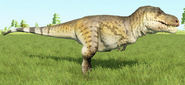 Tyrannosaurus rex (Leather Hide)