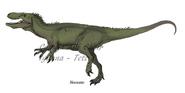 Afrovenator by freakyraptor dd4ijca