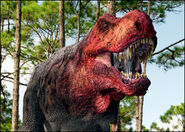 My favorite version of a T rex by cormorana