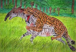 Thylacosmilus by wdghk dc4qpz7.jpg