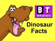 Dinosaur Facts - Kids learn fun dinosaur facts in this basic science cartoon