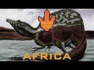Mesozoic World- Africa