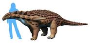 Restoration of Borealopelta markmitchelli size