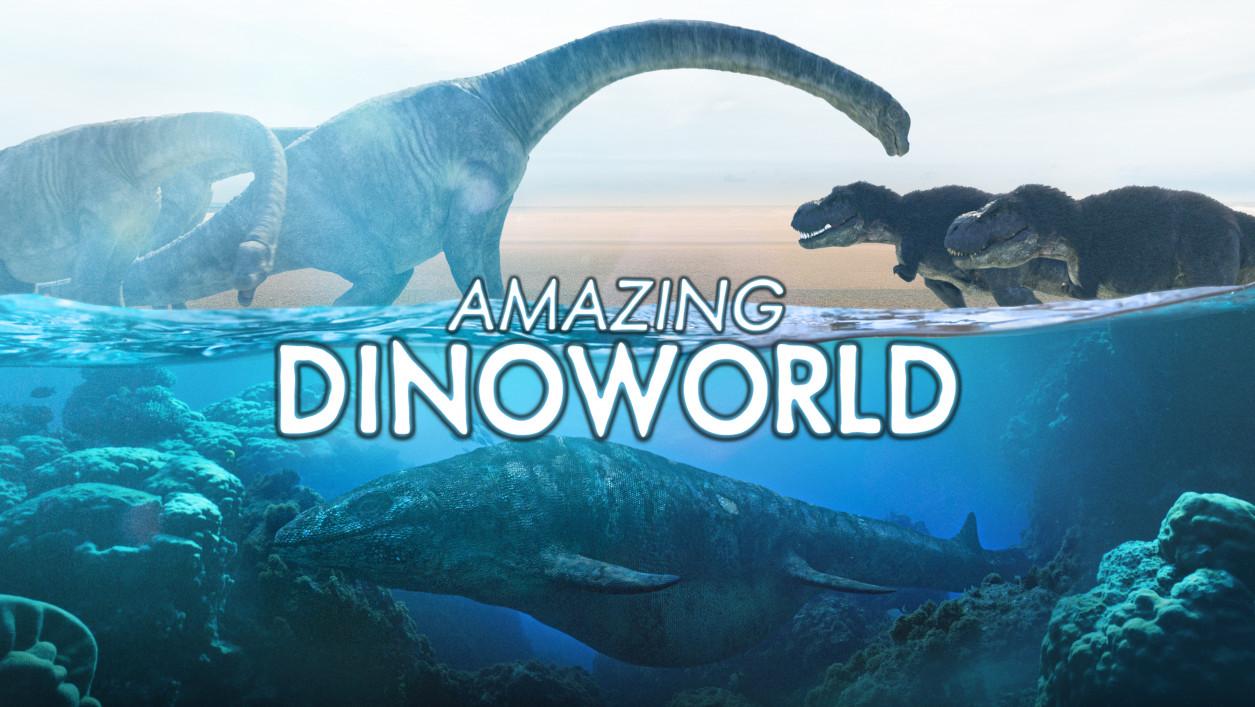 جهان شگفتانگیز دایناسورها (مستند)
