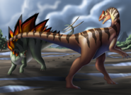 Jurassic meeting by lordstevie-dc8jsow