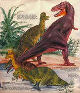 Tyrannosaurus Dinosaurs Domino
