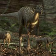 Jeholosaurus in Planet Dinosaur