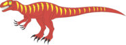 Prehistoric world afrovenator by daizua123 dawgwt0