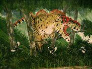 Tyrannosaurus rex by alexandernevsky