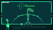 Dinosaur Train Peteinosaurus Skeleton