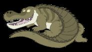 Sarcosuchus by kacchakoboy de6p9eo-pre