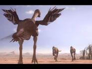 Oviraptorid Defends Her Nest from Predators- Planet Dinosaur - BBC Earth