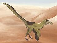 Linheraptor Artist Impression