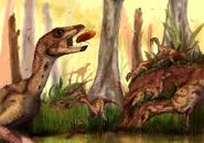 Art impression of Laquintasaura venezuelae