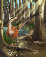 Dineobellator nest