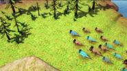 Nasutoceratops migration