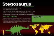 JQ fact sheet Stegosaurus
