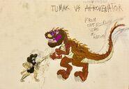 Tumak vs flesh eating afrovenator by masonthetrex ddf8r8u